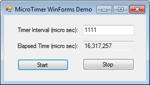 Microsecond and Millisecond C# Timer - CodeProject
