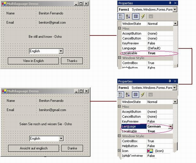 Sample Image - Multilingual_application.jpg