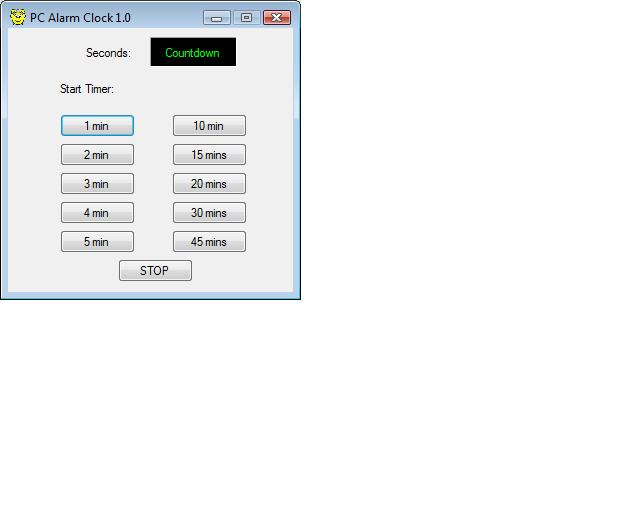 Simple PC Alarm Clock - CodeProject
