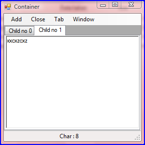 Creating Tabbed MDI Form - CodeProject