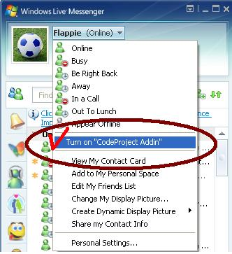 Creating Windows Live Messenger Add-ins - CodeProject
