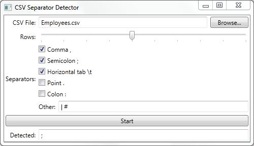 Auto-detect CSV Separator - CodeProject