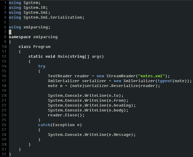 easy xml parsing in c