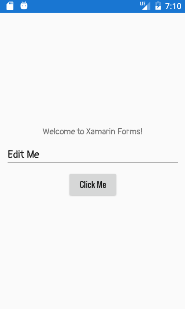 Xamarin Forms Android Custom Font
