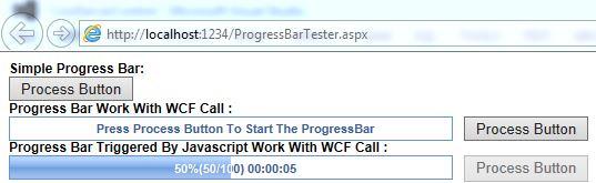 A More Efficient AJAX Progress Bar for ASP NET - CodeProject