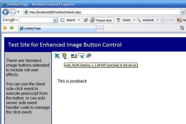 Enhanced ASP NET ImageButton Custom Control with Roll-Over Effects