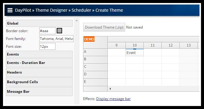 DayPilot - Building an Outlook-Like Calendar Component for ASP NET