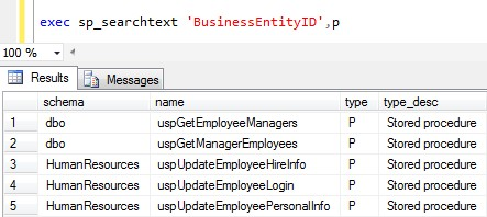 SQL Server Text Search - CodeProject