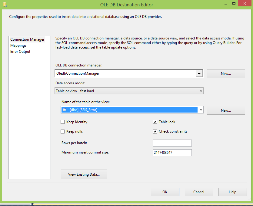 SSIS Import Text File Using Validation - CodeProject