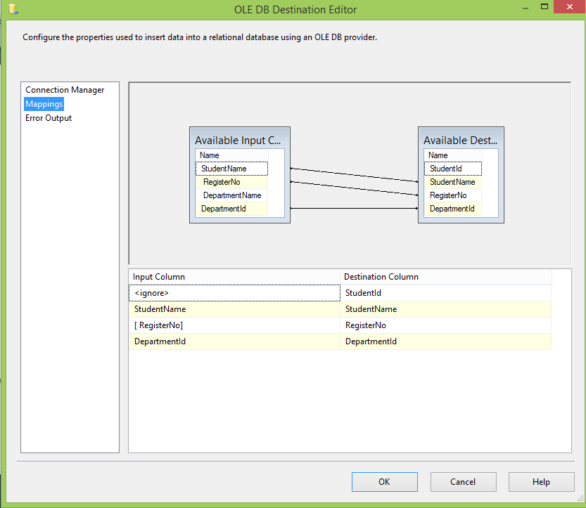 ssis import text file using validation codeproject
