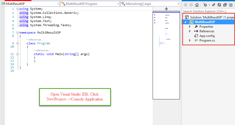 Return Multiple Result Set using Entity Framework from