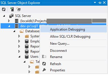 在 Visual Studio 和 SSMS 中调试存储过程 技术分享 第6张