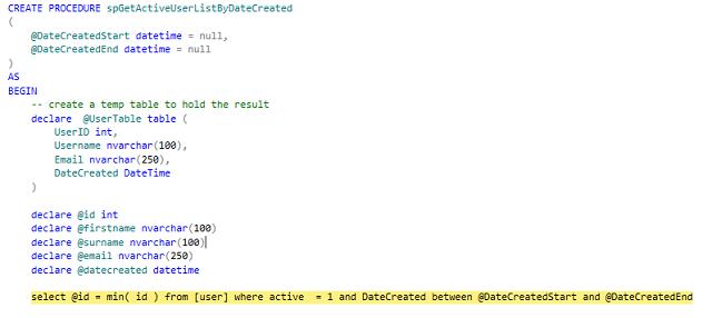 在 Visual Studio 和 SSMS 中调试存储过程 技术分享 第18张