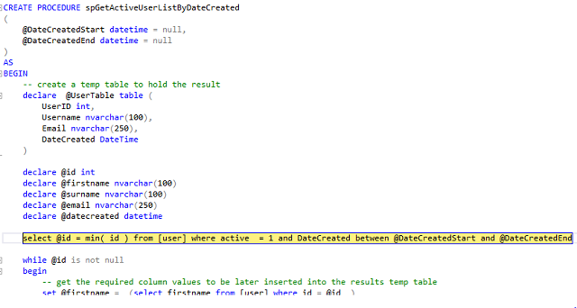 在 Visual Studio 和 SSMS 中调试存储过程 技术分享 第9张