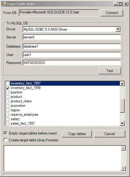 MySQL Data Importer - CodeProject