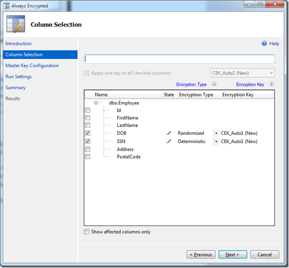 Always Encrypted Feature in SQL Server 2016 - CodeProject