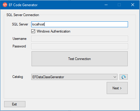 C# Entity Framework Class Generator for Data Layer - CodeProject