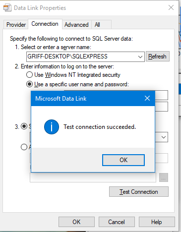 Simple SQL Connection String Creation - CodeProject