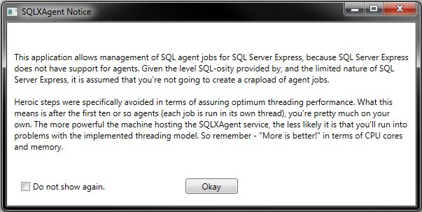 SQLXAgent - Jobs for SQL Express - Part 1 of 6 - CodeProject