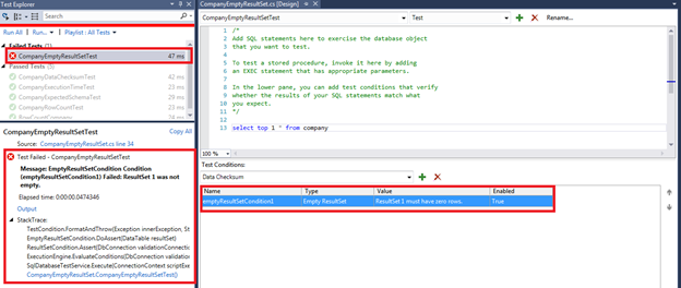 SQL Unit Testing with SQL Server Data Tools (SSDT) - CodeProject