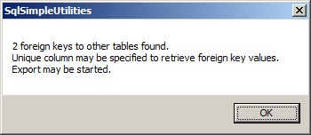 Message box foreign keys to other tables