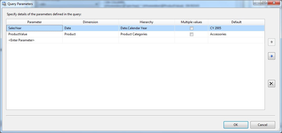 SSRS Report with Single and Multi Selection Parameter using