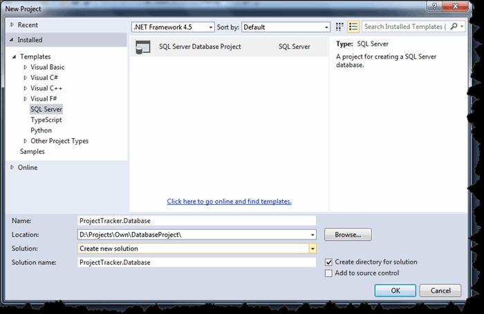 SQL Server Database Development in Visual Studio - CodeProject
