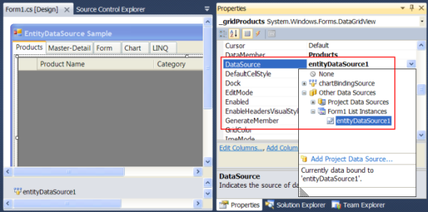 Entity Framework in WinForms - CodeProject