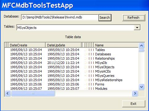 MsAccess MdbTools with MFC and  NET - CodeProject