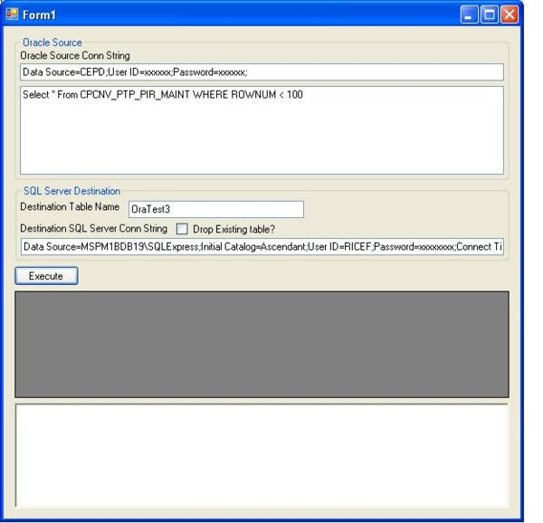 Oracle to SQL Server VB NET Utility application - CodeProject