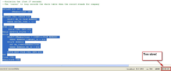 Using SQL Server Table Variables to Eliminate the Need for Cursors