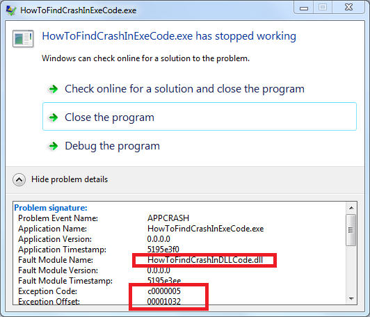 Using Windows Event Viewer to debug crashes - CodeProject