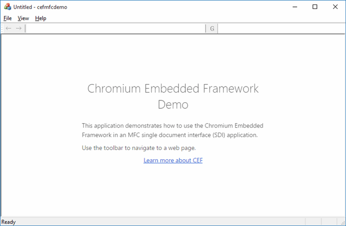 Embedding a Chromium browser in an MFC application - CodeProject