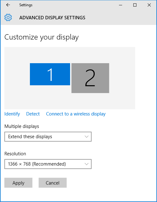 Showing WPF Windows in Two Screens
