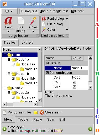 Programming the Roma Widget Set (C# X11) - a zero dependency