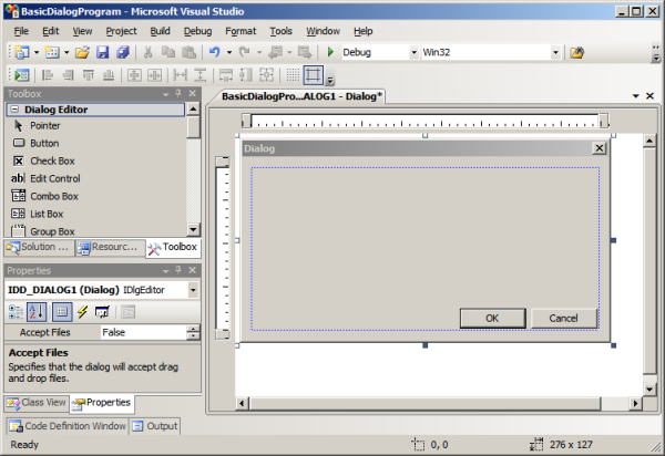 A dialog based Win32 C program, step by step - CodeProject