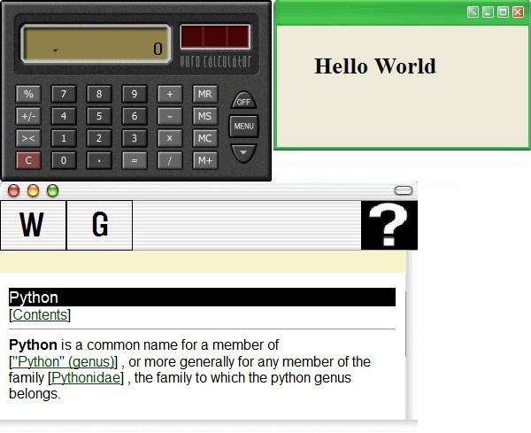 how to make a python program into an app