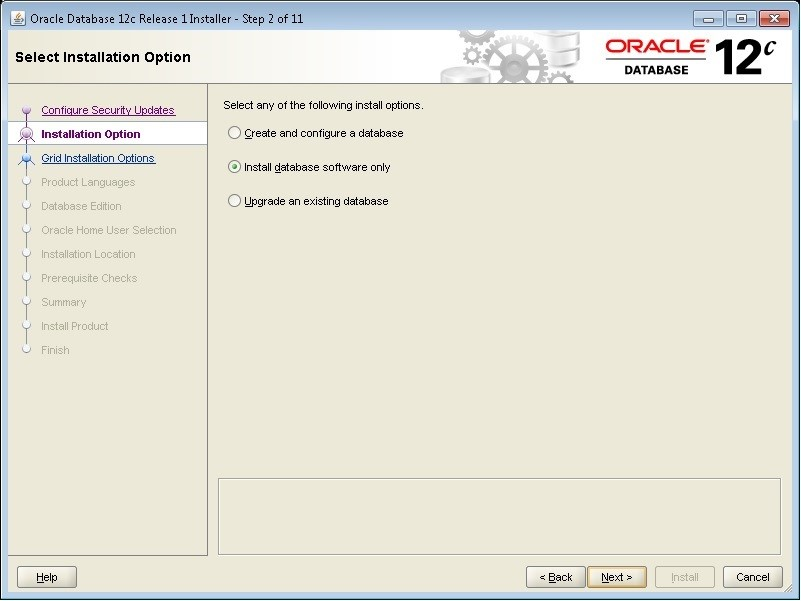 oracle database software for windows 7