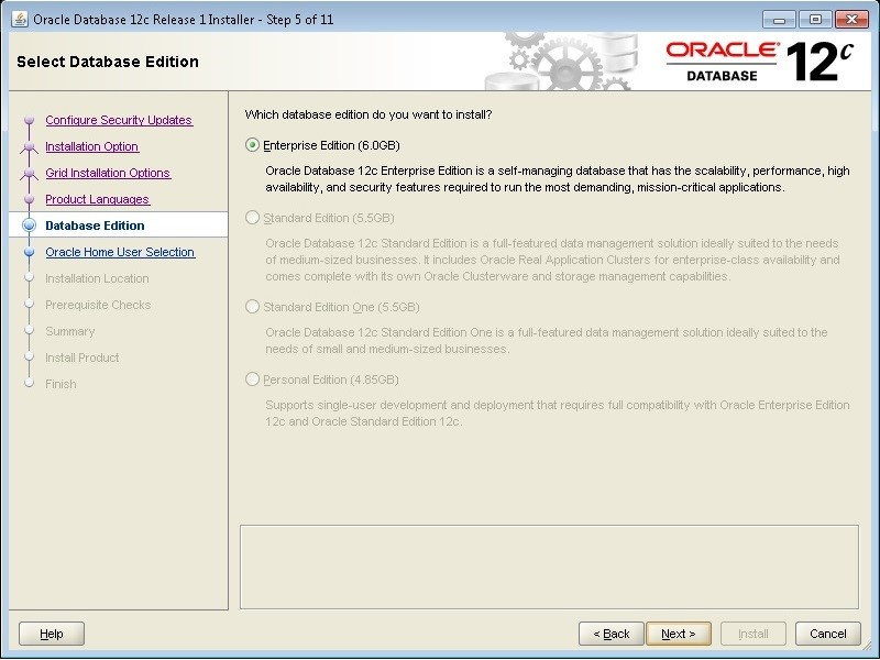 Oracle 12c Installation on Windows 7 (Step by Step Solution