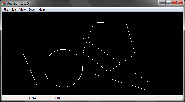 Drawing Lines In Asp : 2d drawing doc view architecture codeproject