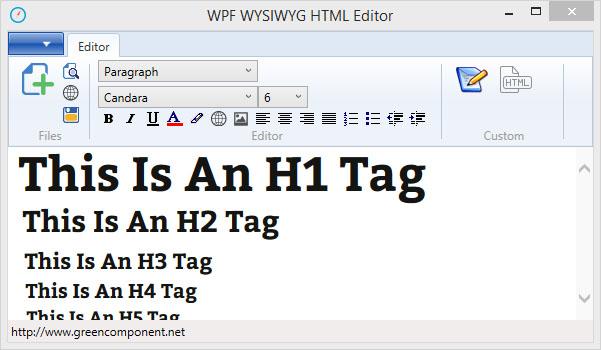 C# WPF WYSIWYG HTML Editor - CodeProject