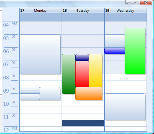 A Professional Calendar/Agenda View That You Will Use