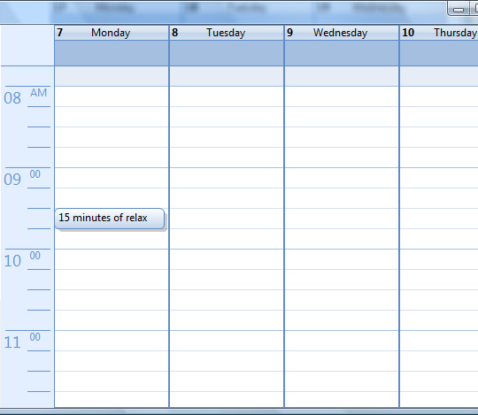 A Professional CalendarAgenda View That You Will Use  Codeproject