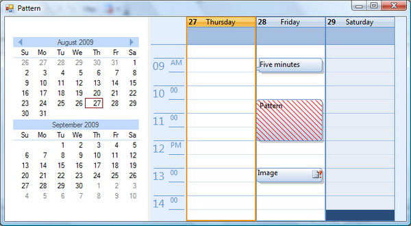 Calendar Planner Vb : A professional calendar agenda view that you will use