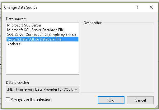 Setting up SQLite and Entity Framework 6 (Code First and