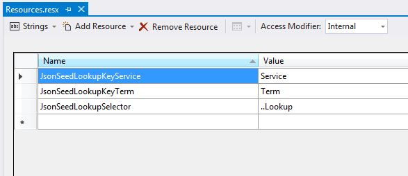 Entity Framework DAL with Generic Seeding from JSON, Using