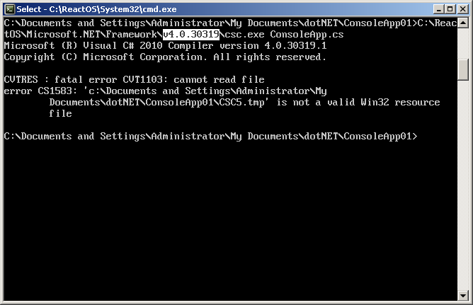Introduction to C# on ReactOS - CodeProject