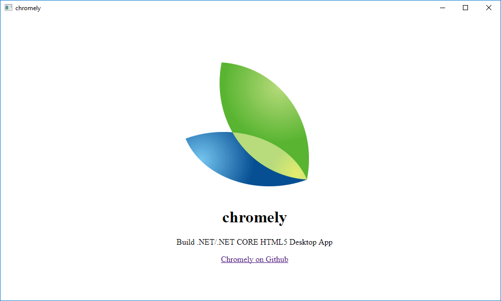 Chromely - Lightweight Alternative to Electron - CodeProject