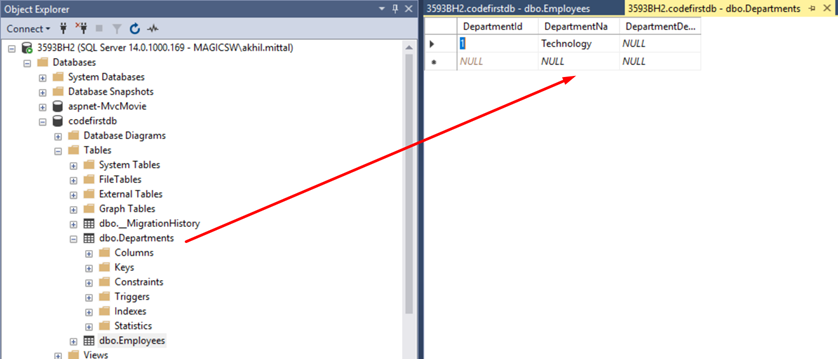 Learning Entity Framework (Day 2): Code First Approach and