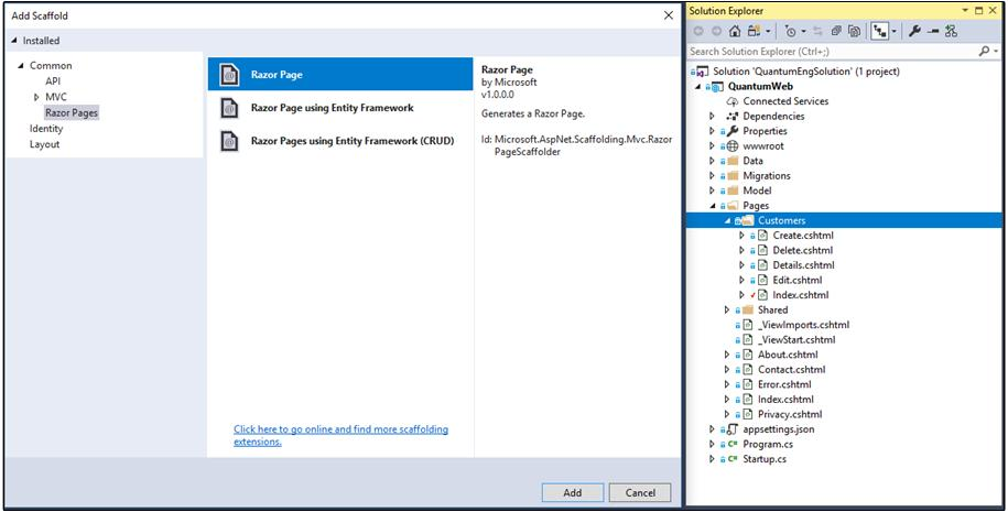 ASP NET Core Razor Pages Using EntityFramework Core with Enums as